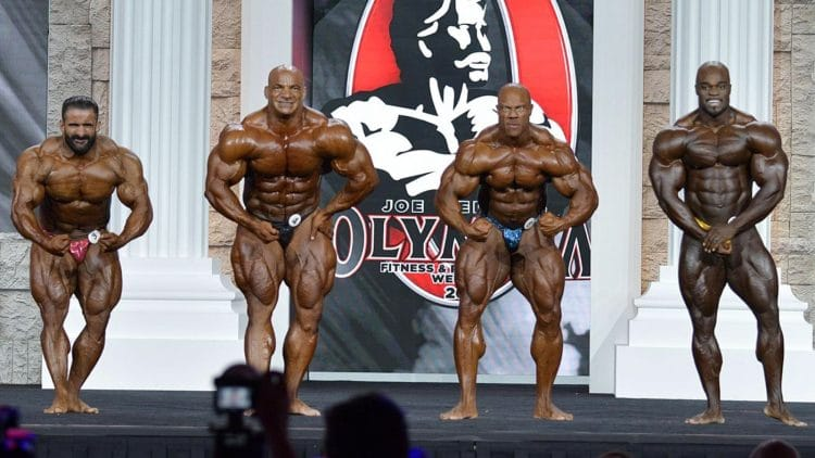 2021 Mr. Olympia Qualified Athletes