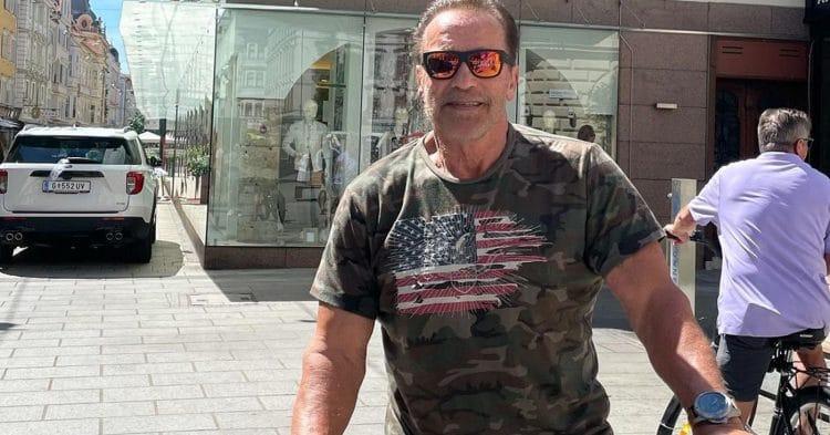 Arnold Schwarzenegger Freedom Comment