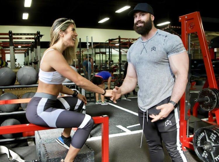 Bradley Martyn With Heba Ali