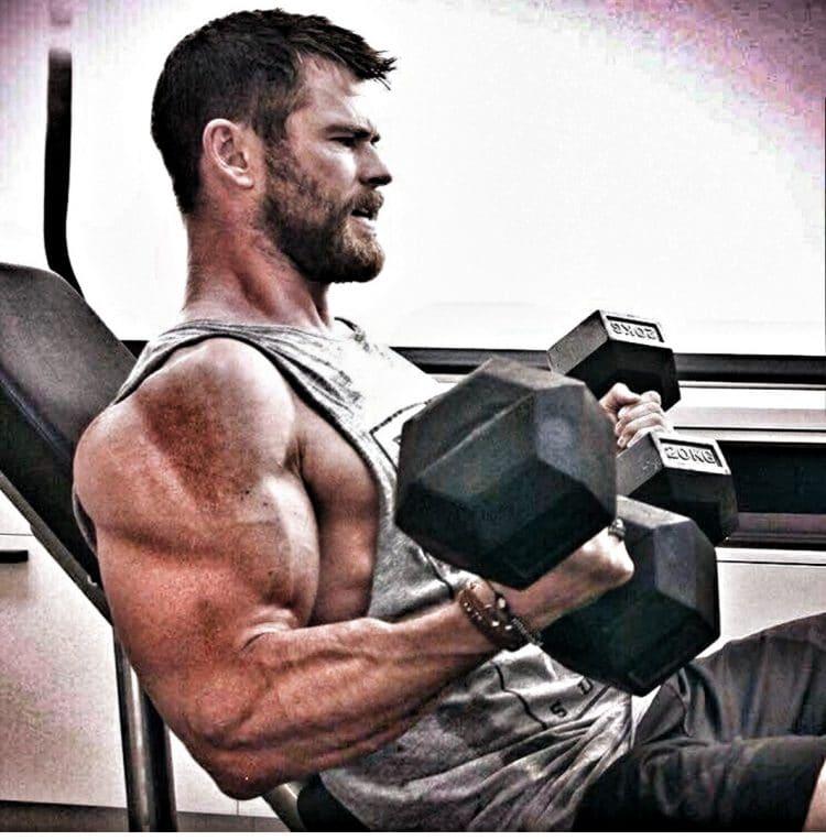 Chris Hemsworth Arms