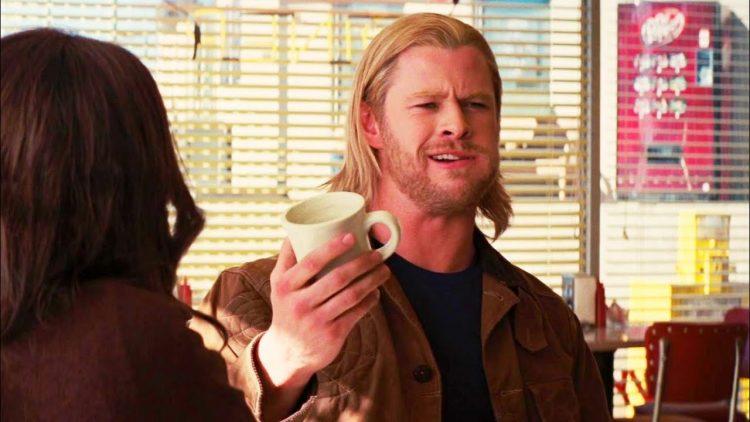 Chris Hemsworth Eating
