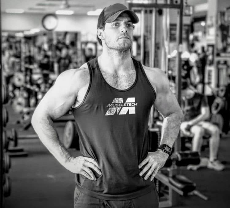 Henry Cavill in Gym
