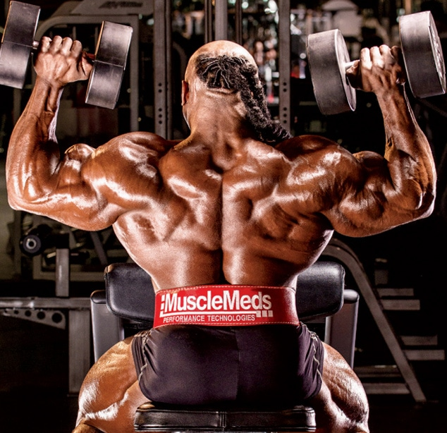 Kai Greene Shoulders And Forearms Workout