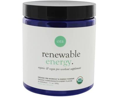 Ora Organic Natural Pre Workout