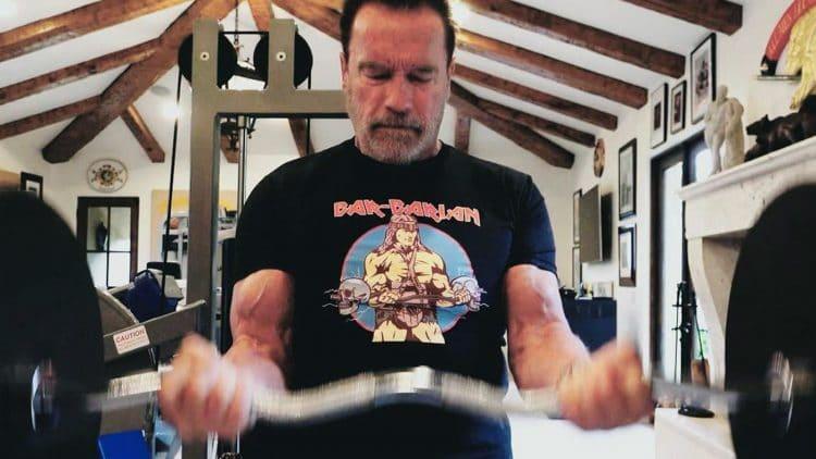 Arnold Schwarzenegger Powerlifting