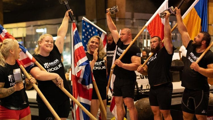 2021 Worlds Ultimate Strongman Results