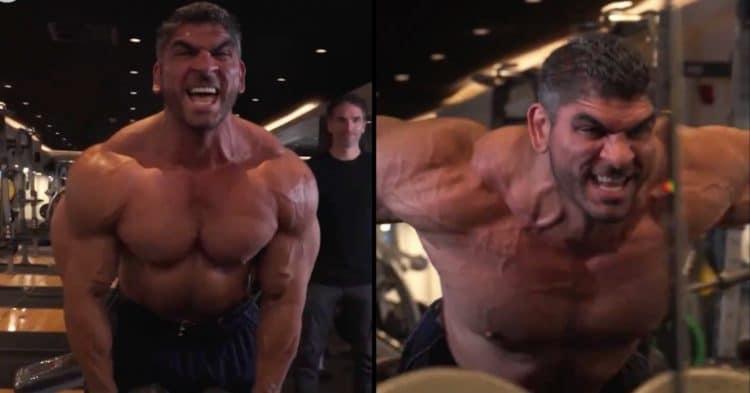 Bodybuilder Bigorexia