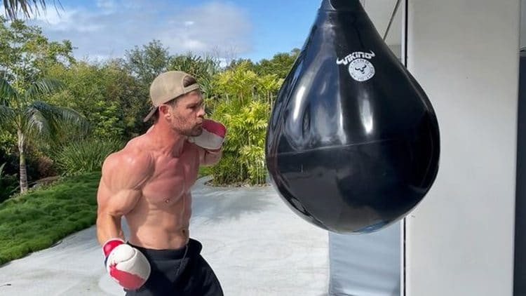 Chris Hemsworth Boxing And Bodyweight Workout