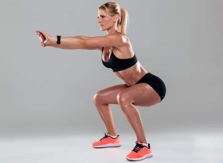 Female Bodyweight Squat