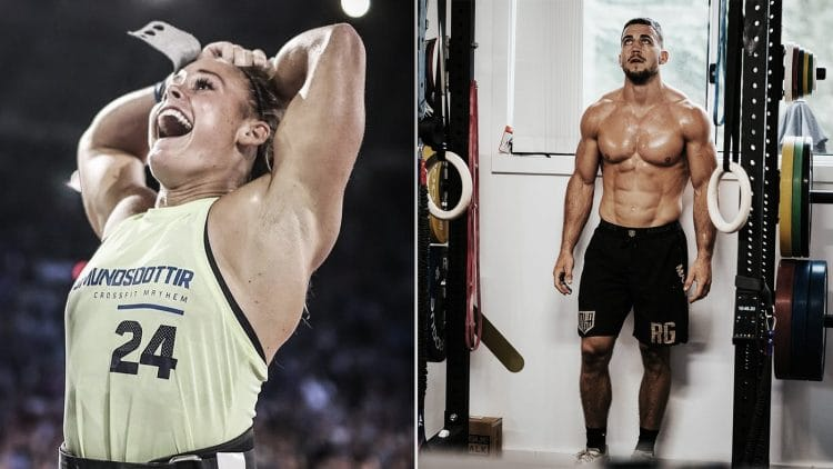 Dubai CrossFit Championship Ricky Garard And Sara Sigmundsdottir