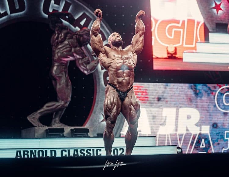 Sergio Oliva Jr At Arnold Classic 2021