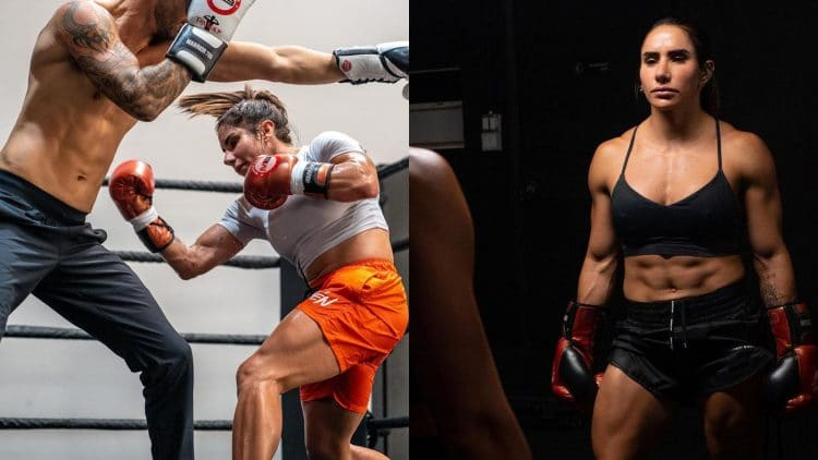 Stefi Cohen Pro Boxing Match