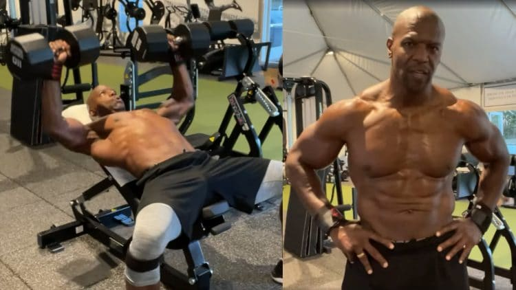 Terry Crews Chest And Arms Workout