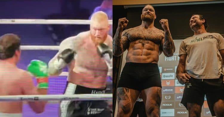 Thor Bjornsson Vs Devon Larratt Boxing