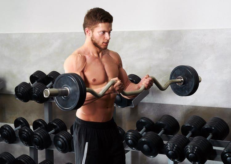 EZ Bar Biceps Curls