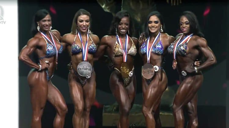 2021 Figure Olympia Results