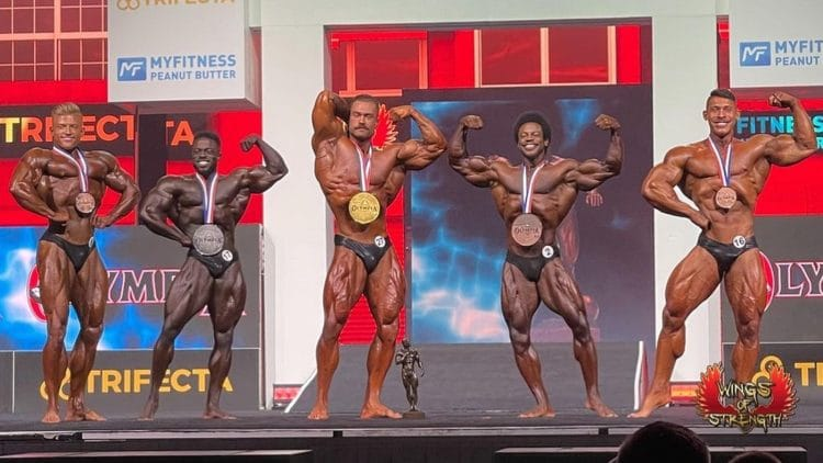 2021 Mr Olympia Classic Physique Results 1