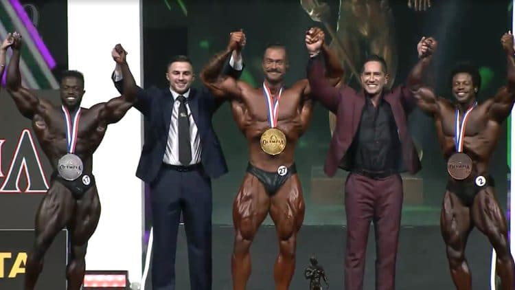 2021 Mr. Olympia Classic Physique Results