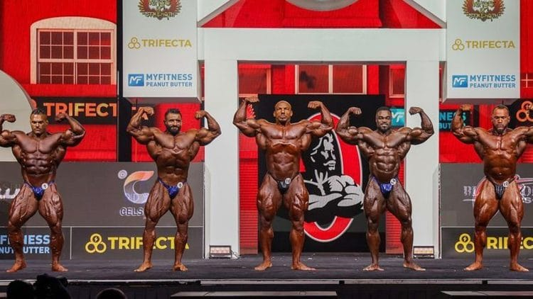 2021 Mr. Olympia Open Bodybuilding Prejudging