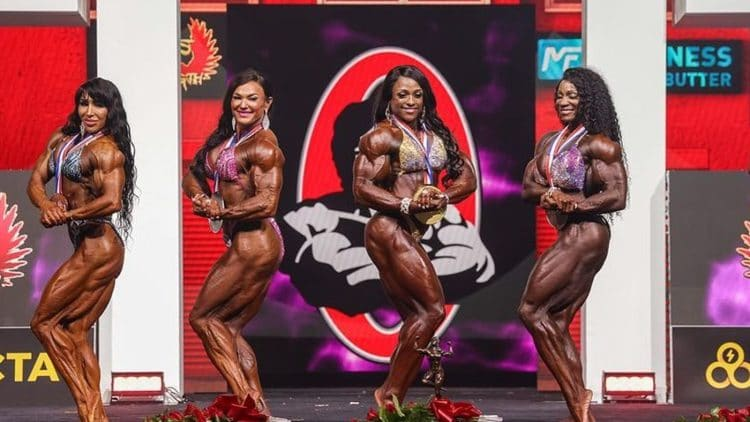 2021 Ms. Olympia Results
