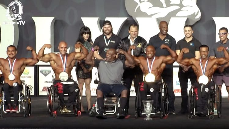 2021 Wheelchair Olympia Results
