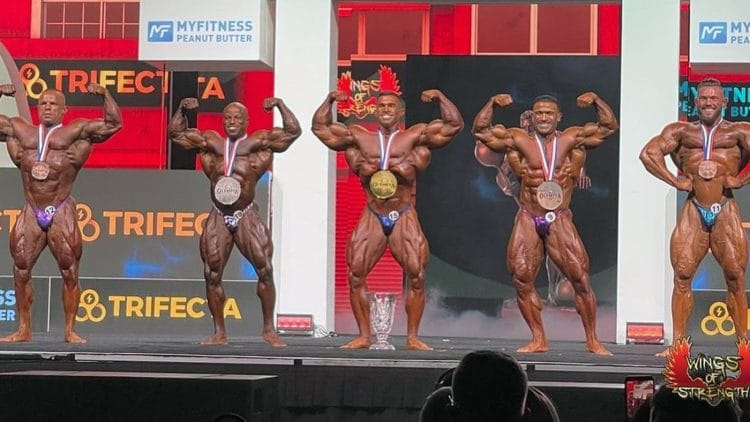 212 Olympia Results