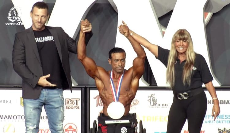3rd Place Wheelchair Olympia