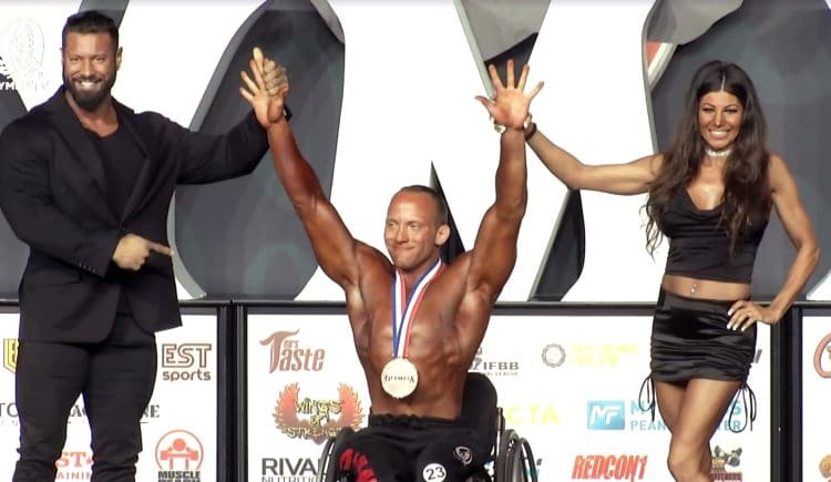 5th Place Wheelchair Olympia