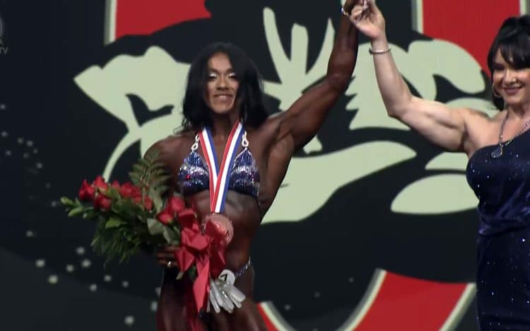 Ana Harias Women's Physique Olympia