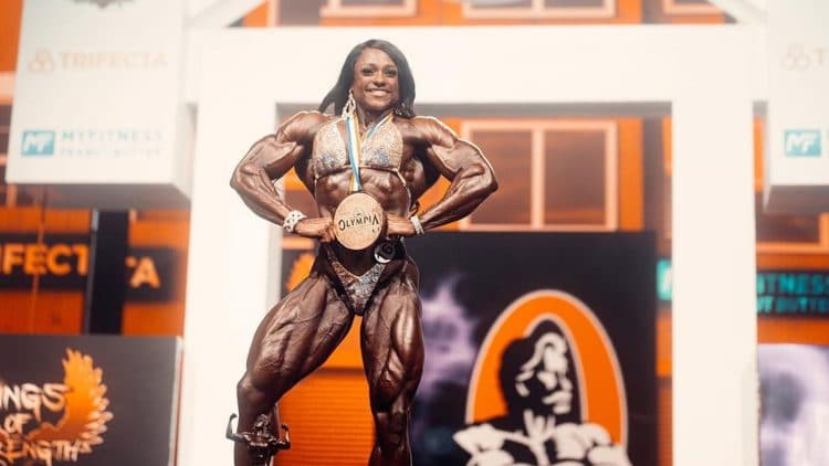 Andrea Shaw Wins The Ms. Olympia 2021 Title