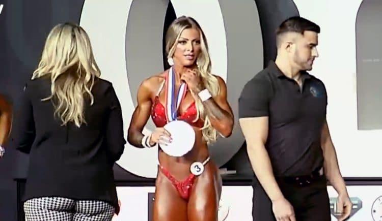 Angela Borges Wellness Olympia 2nd