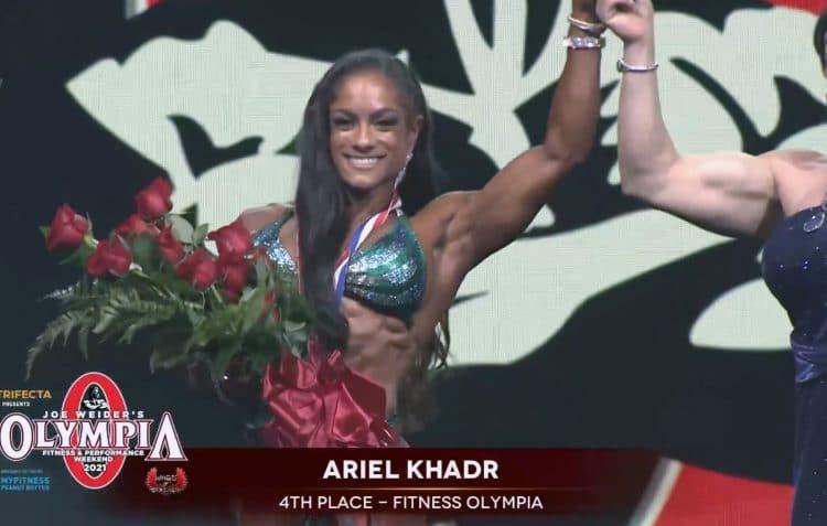 Ariel Khadr Fitness Olympia 2021