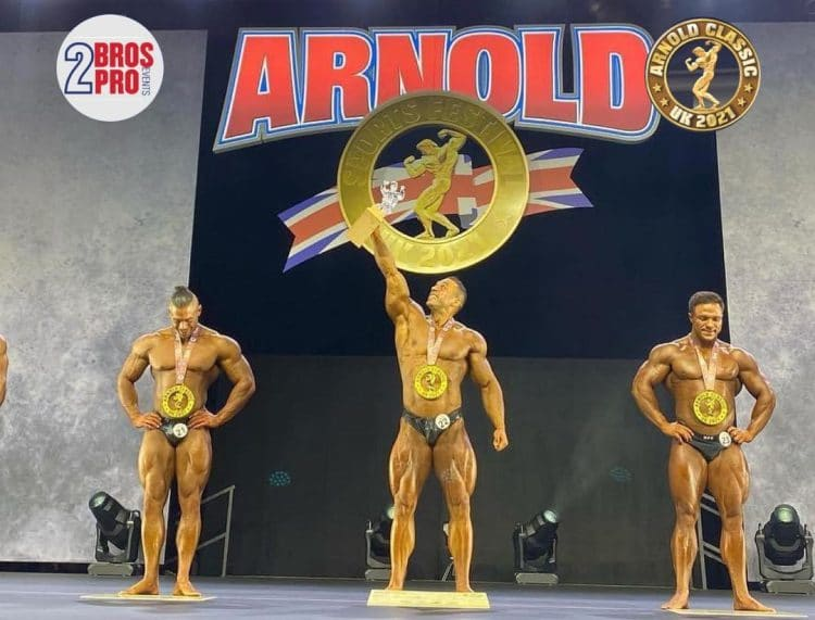 Arnold Classic UK Classic Physique Top 3