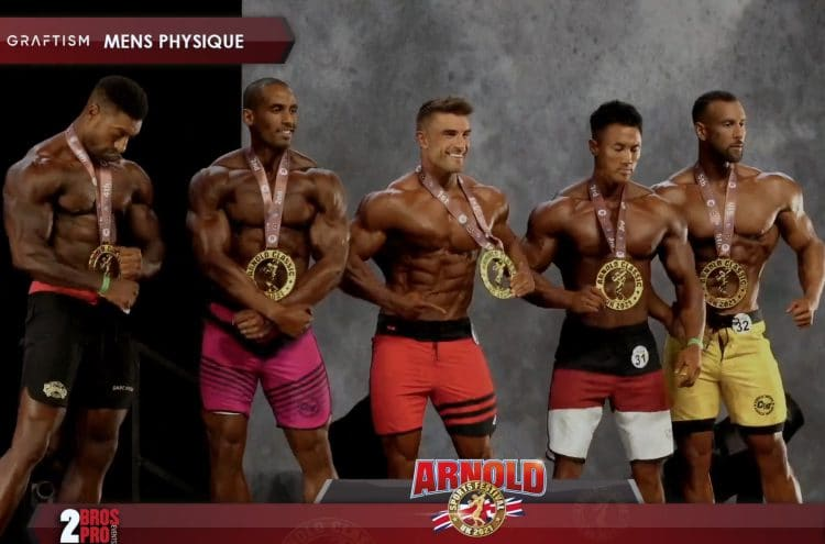 Arnold Classic UK Men's Physique Top 5