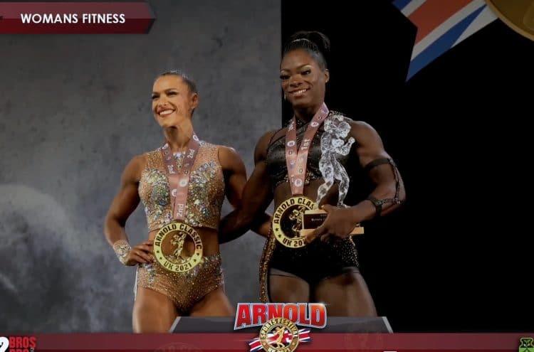 Arnold Classic UK Women's Fitness Top 2