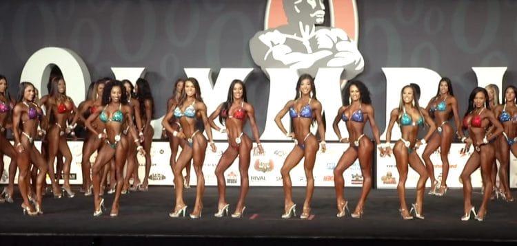 Bikini Olympia 1st Callout