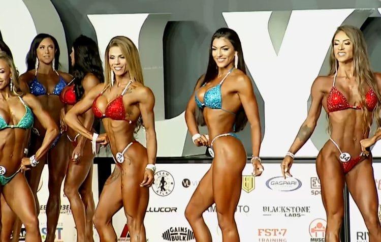 Bikini Olympia Pre Judging