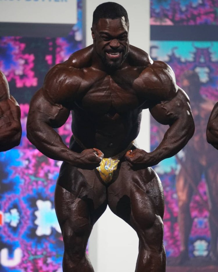 Brandon Curry At 2021 Olympia