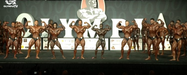 Classic Physique Olympia 1st Callout
