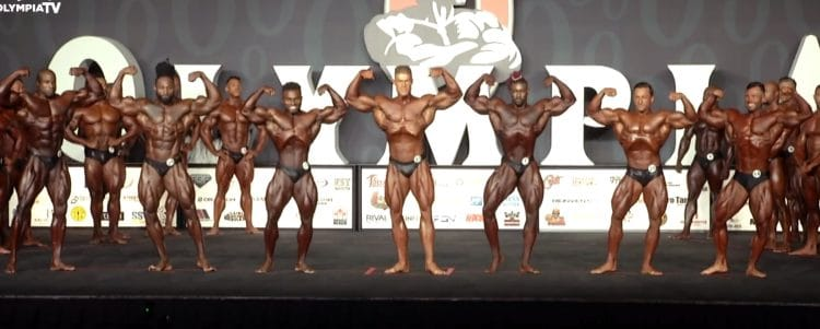 Classic Physique Olympia 2nd Callout