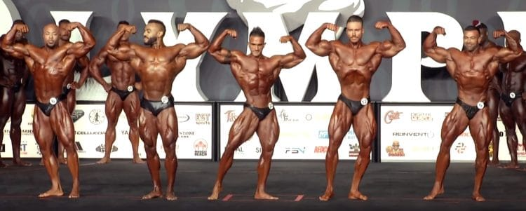 Classic Physique Olympia 3rd Callout