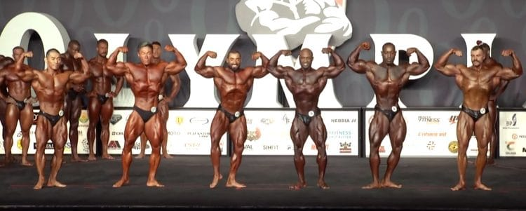 Classic Physique Olympia 4th Callout