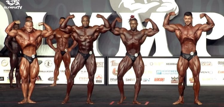 Classic Physique Olympia 6th Callout