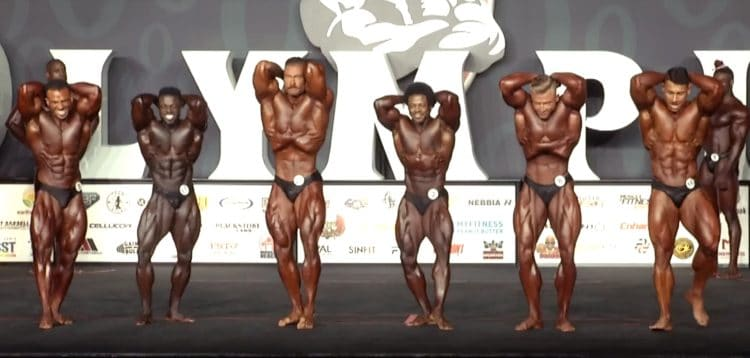 Classic Physique Olympia 7th Callout