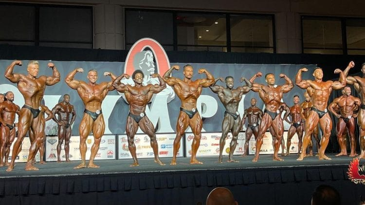 Classic Physique Olympia Prejudging