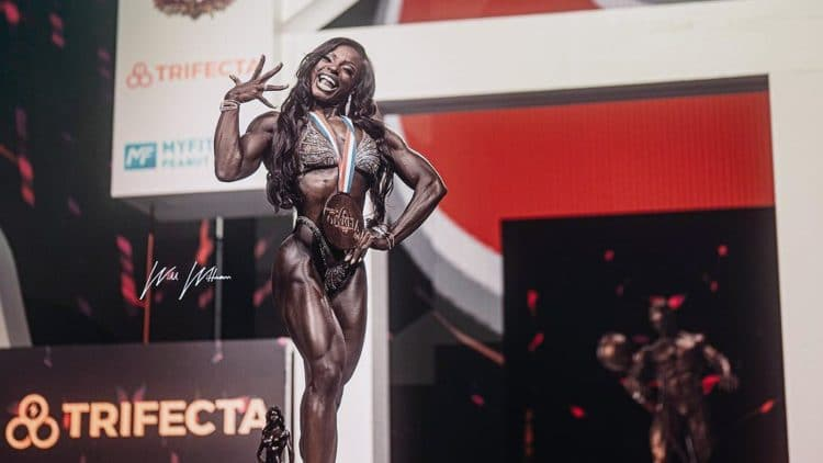Cydney Gillon Wins Figure Olympia 2021