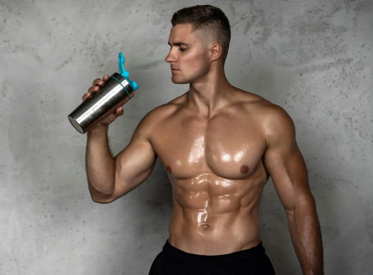Drinking Pre Workout