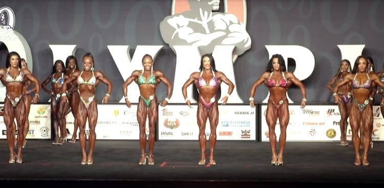 Figure Olympia 2nd Callout