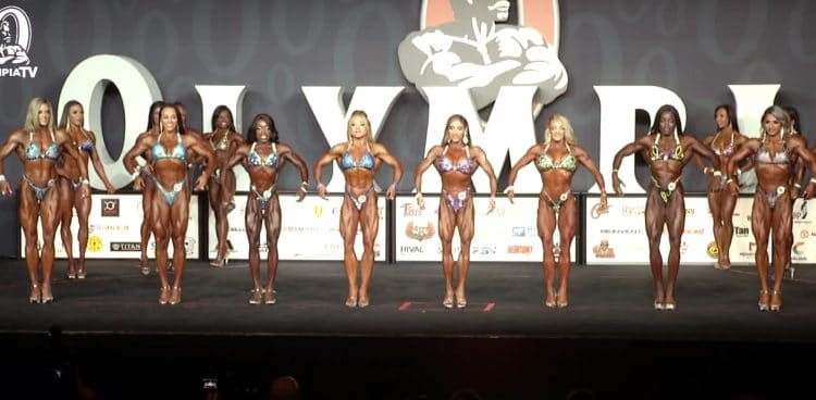 Figure Olympia 3rd Callout