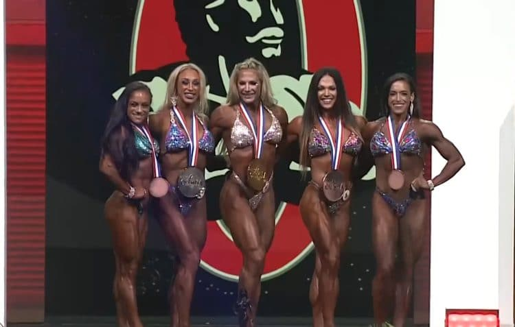 Fitness Olympia 2021 Top 5